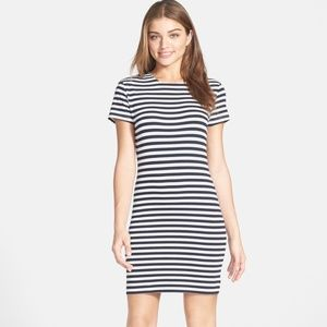 French Connection Striped Sailor Cotton Dress